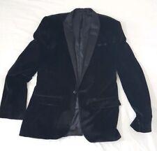 Men's Asos Black Velvet blazer 38R