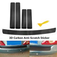 Vinile 3D Carbonio Fibra Auto Posteriore Paraurti Baule Bordo Protezione Adesivi