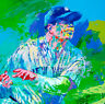 "Babe Ruth NEW YORK Yankees LeRoy Neiman signed REPRINT POSTER 11""x14"""