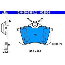 Original ATE 13.0460-2984.2 Bremsbeläge Bremsbelagsatz für VW