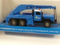 1/87 Wiking Magirus Uranus KW 15 Felbermayr Abschleppdienst  0630 53 Sondermo...