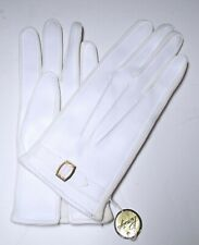 Vintage Women's White Vinyl Ladies Day Gloves Primstyle Woolworths New With Tags