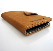 genuine leather Case For Samsung Galaxy Note 2 book wallet magnet cover cards uk