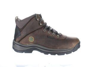 Timberland Mens White Ledge Dark Brown Hiking Boots Size 12 (1405418)