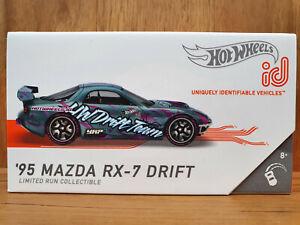Hot Wheels ID SERIES 2 DRIFT DOMINATION 04/04 '95 MAZDA RX-7 DRIFT in SPECT BLUE