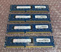 Hynix HMT112R7BFR8C-H9 - 4GB (4x1GB) PC3-10600R DDR3 240-P ECC RAM Memory Module