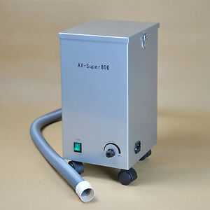 Dental Portable Vacuum Dust Collector Dust Extractor 800W Low Noise AX-SUPER800