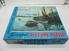 "Vintage Jigsaw Picture Puzzle ""IN PORT"" Over 500 Pieces"