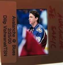 JOE SAKIC Colorado Avalanche Quebec Nordiques HOF 2012  ORIGINAL SLIDE 2