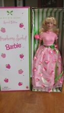 NEW AVON EXCLUSIVE SPECIAL EDITION STRAWBERRY SORBET BARBIE CAUCASION BLONDE
