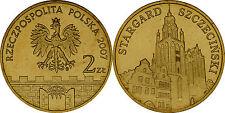 """Poland 2007 - 2 zlotych """"Towns in Poland Series - Stargard Szczeciński"""" UNC"""