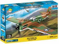 Curtiss P40E Warhawk - COBI 5706 - 265 brick fighter aircraft