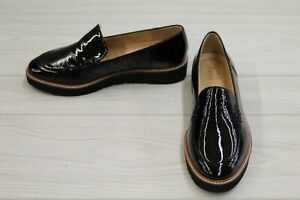 Naturalizer Andie Patent Leather Loafers, Women's Size 9 W, Black NEW