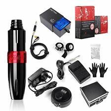 Stigma Tattoo Machine Kit Pro Rotary Tattoo Machine Tattoo Pen Kit with 20 pcs