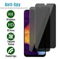 For Samsung Galaxy A10e A20 A50 Anti-Spy Privacy Tempered Glass Screen Protector