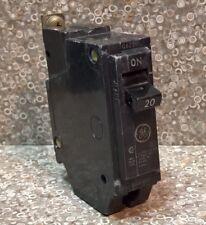 Ge 20a 1 Pole Circuit Breaker Type Thqb Rt 691 120240vac G623