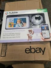 """HUBBLE CONNECTED Nursery Pal Premium 5"""" Smart HD Baby Monitor  Same Day Shipping"""
