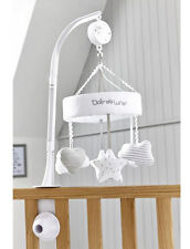Brand new in box Clair de lune little dreams cot musical mobile in grey