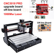 Upgraded Offline Control 1000mW CNC Laser Engraving Machine 3018Pro Router Mill