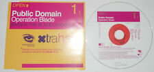 PUBLIC DOMAIN - OPERATION BLADE - CD SINGLE..