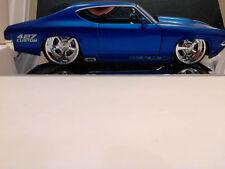 Jada 1:24 1969 Chevelle SS 427 Custom, Blue Metallic! New! No Box!