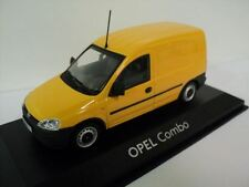 GENUINE Vauxhall Combo C (Yellow) 1:43 Diecast Model Car by Minichamps - 9162986