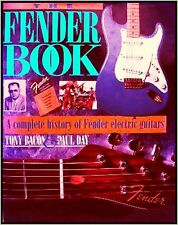 Fender e-guitars musicbook by Tony Bacon complete Colour Gallery Vintage History