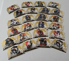 Hockey Crown Royale cards card lot of 24 Rookies numbered memorabilia 2002-03