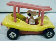 Aviva Peanuts Snoopy Diecast Surf Boards Dune Buggy Car