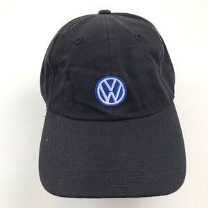 Volkswagen Casquette Chapeau Noir Bleu Taille Unique Réglable Brodé Adulte VW