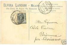 MILANO - PUBBLICITARIA MODA - ELVIRA LANZONI 1918