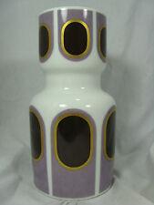 Rare Seltene 70´s Pop Art Design Heinrich Porzellan porcelain vase  2074  23 cm