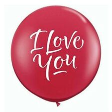Party Supplies Love Valentines Day I Love You 90 cm 3ft Latex Balloons