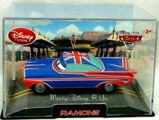 Disney Store Pixar CARS 2 Ramon British Flag Diecast Car Collector Case Britain