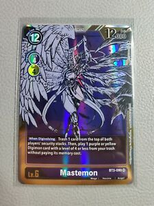 Mastemon Alt Art   NM/M   BT3-090 SR   Digimon Card Game