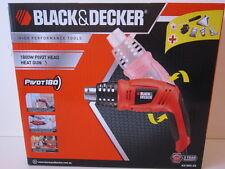 BLACK & DECKER HEAT GUN. PIVOT HEAD. 1800W.