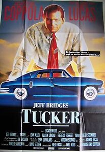 FRANCIS FORD COPPOLA + TUCKER - A MAN AND HIS DREAM + JEFF BRIDGES + GERMAN 2-SH