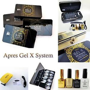 APRES Gel X System & Tips BOX (All about Apres Gel X) -> Choose from menu🔥