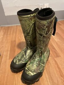 Red Wing Irish Setter Rubber Hunting Boots 1200 Gram Insulation Scent Free Sz 15