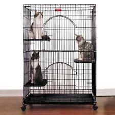 Proselect ProSelect Foldable Cat Cage 35.5Lx24Wx48 Wht - Zw334-11 Cat New