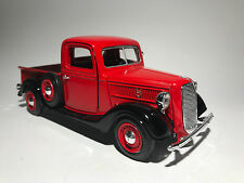 1937 FORD PICK UP RED scale 1:24 model car toy model car toy car diecast car ute