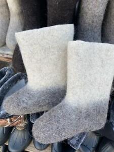 Russian ORIGINAL Valenki 100% Wool walenki USSR Winter Unisex
