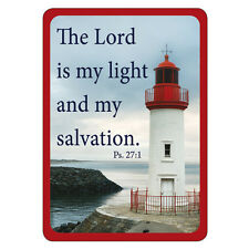 The Lord is My Light and My Salvation Ps. 27:1 Magnet by Christian Art Gifts