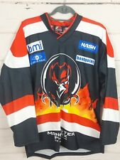 More details for manchester phoenix adult large ice hockey shirt jersey top ehl used