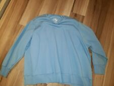 5XL baby blue sweatshirt Eco smart big and tall