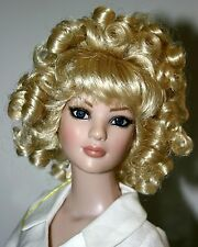 Long Curly Pale Blond Wig Size 7-8  American Model - Charmaine