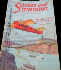 ANTIQUE ! RARE!! SCIENCE AND INVENTION, NOVEMBER , 1921 ( B # 28)