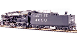 BLI 4765 SANTA FE 4000 Class Mikado #4023 w/Switching Pilot Paragon4 Sound NIB