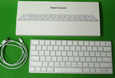 Apple Magic Keyboard Tastatur Bluetooth (US Keyboard-Layout QWERTY) - Weiß *OVP