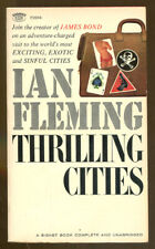 Thrilling Cities by Ian Fleming-Vintage Signet Paperback First Printing-1965